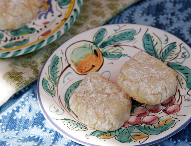 Plate of Gluten Free Italian Cookies
